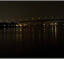 Photoshopped Itchen Bridge night shot by haynes99