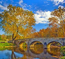 Burnside Bridge ay Antietam by ©  Paul W. Faust