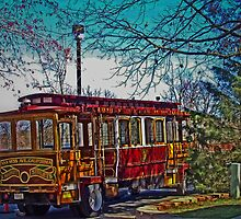 Market Street Trolley by jgrace