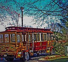 Market Street Trolley by jgrace