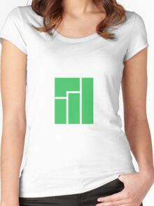 Manjaro Linux Women's Fitted Scoop T-Shirt