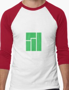Manjaro Linux Men's Baseball ¾ T-Shirt