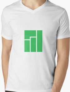 Manjaro Linux Mens V-Neck T-Shirt
