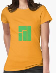 Manjaro Linux Womens Fitted T-Shirt