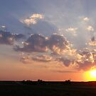 Farm Sunset 3 by Essenique