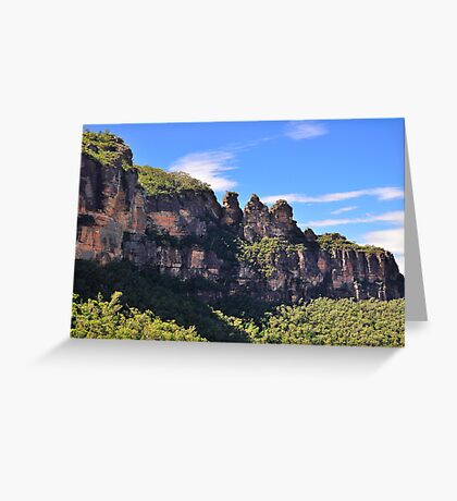 Blue Mountain Icons Greeting Card