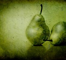 Green Pears by M a r i e B a r c i a