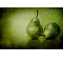 Green Pears Photographic Print