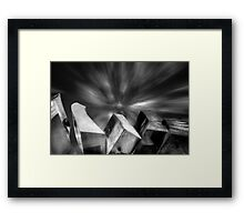 Shaping Up Framed Print