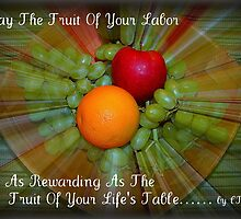 FRUIT OF LIFE by Claire Moreau