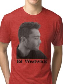 Ed Westwick Tri-blend T-Shirt