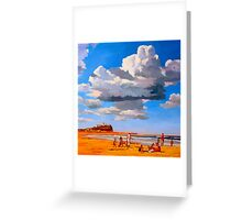 Nobby's Beach Greeting Card