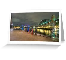 HDR Walsh bay Greeting Card