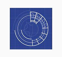 Blueprint Prototype Shield Unisex T-Shirt