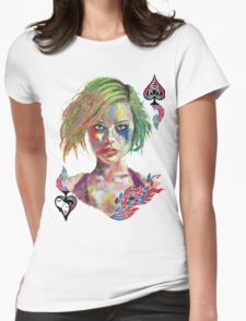 Harley Joker Womens Fitted T-Shirt
