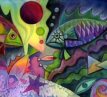 Unda the sea by Karin Zeller
