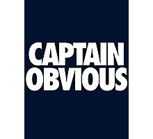 CAPTAIN OBVIOUS Photographic Print