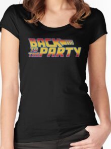 Back to the Party !  Women's Fitted Scoop T-Shirt