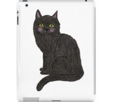 Bertie Black Cat iPad Case/Skin