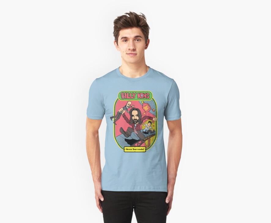 """Billy Kong"" -  nerdy gamer tee by J PH"