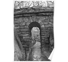 """""""Hidden Doorway - Central Park"""" Poster"""