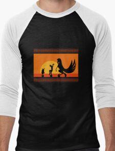 Hercules Sunset Men's Baseball ¾ T-Shirt