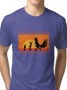 Hercules Sunset Tri-blend T-Shirt