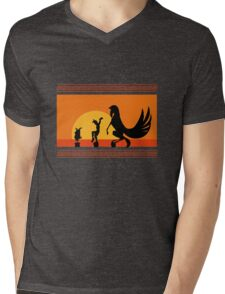 Hercules Sunset Mens V-Neck T-Shirt