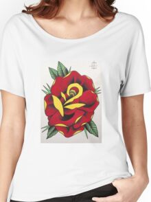 Traditional rose Women's Relaxed Fit T-Shirt