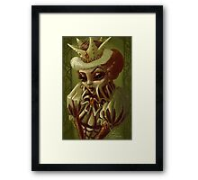 Royally Sinister Framed Print