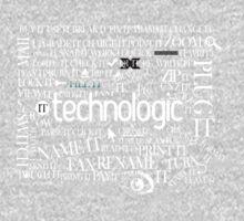 Daft Punk - Technologic Lyrics Kids Clothes