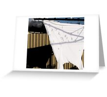 dry doubt Greeting Card