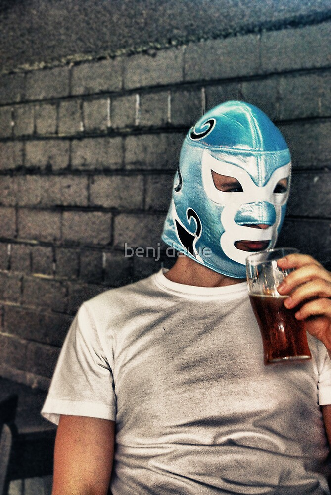 Barfly Wrestler by benj dawe