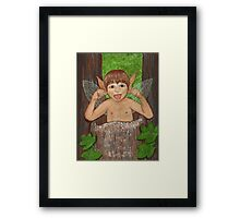 Finwe - Fairy - Elf Boy Art Framed Print