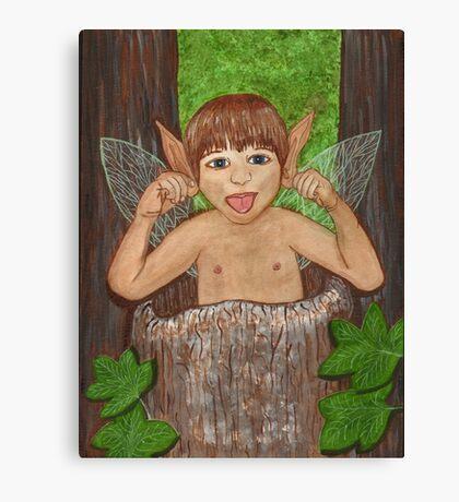 Finwe - Fairy - Elf Boy Art Canvas Print