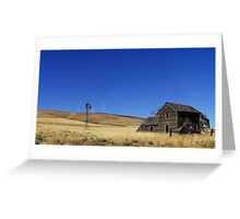 Old n New - Goldendale Washington Greeting Card