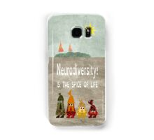 Neurodiversity is the spice of life Samsung Galaxy Case/Skin