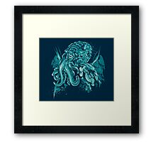 A God Beyond the Sea Framed Print
