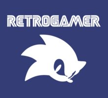 Retro gamer Sonic Shirt by robinart