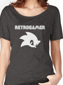Retro gamer Sonic Shirt Women's Relaxed Fit T-Shirt