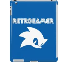 Retro gamer Sonic Shirt iPad Case/Skin
