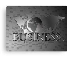 Business world Canvas Print