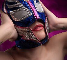 Luchadora - Wrestling Mask 2 by Iarphoto