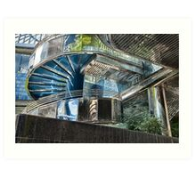 CHROME ARCHITECTURE Art Print