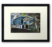 CHROME ARCHITECTURE Framed Print