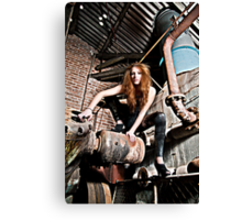 Spider Woman Canvas Print