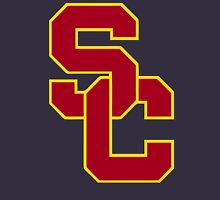 interlocking usc  Unisex T-Shirt