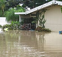 Brisbane Floods 2011 - Inundation - My Home by Neil Ross