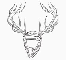Mx Stag Head One Piece - Long Sleeve