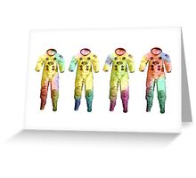 Neil Armstrong's Space Suit Greeting Card